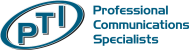 PTI Professional Communications Specialists Logo